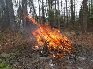 Burnpile