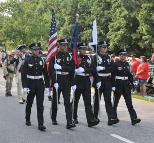 Honor Guard PTC Parade