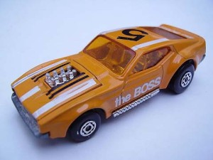 The Boss Matchbox Car