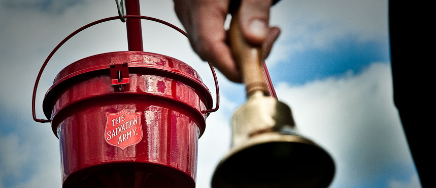 salvation army bucket