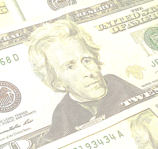 Andrew Jackson on $20 bill