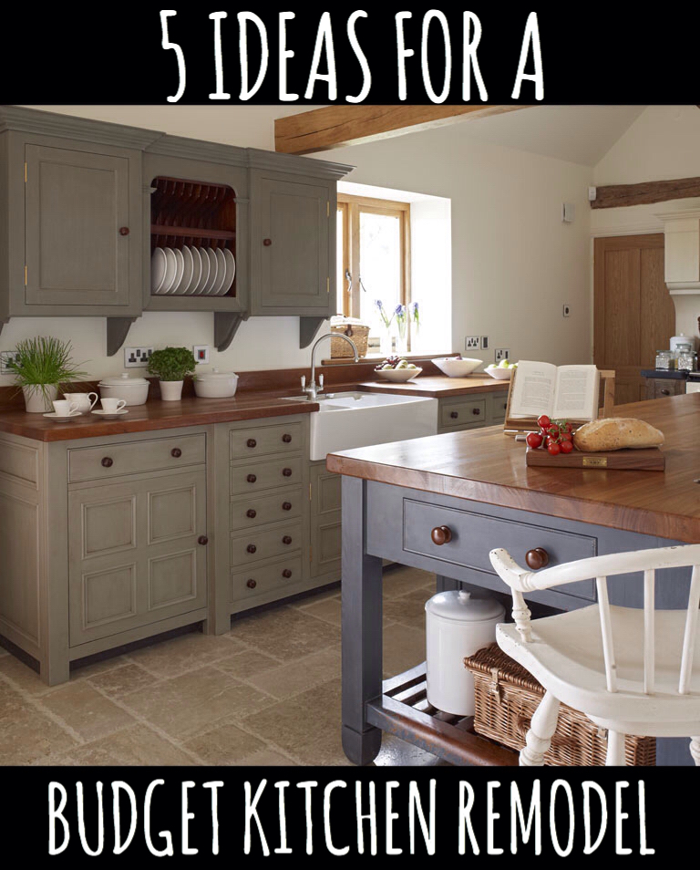 Kitchen Makeovers On A Low Budget: 5 Ideas For A Kitchen Remodel On A Budget