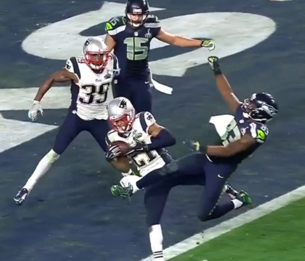 super bowl interception