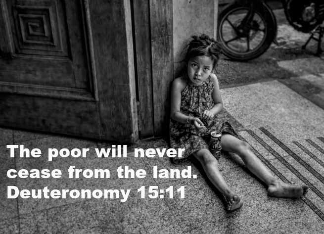 bible verses about helping the poor