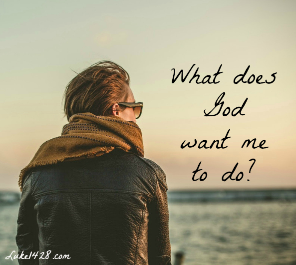 What Does God Want Me to Do with My Life?